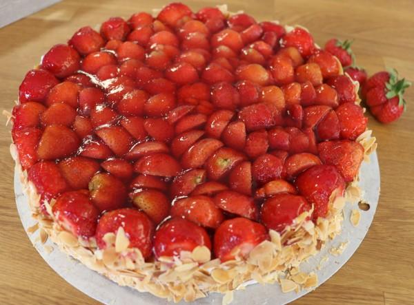 Erdbeertorte Kuchen und Torten