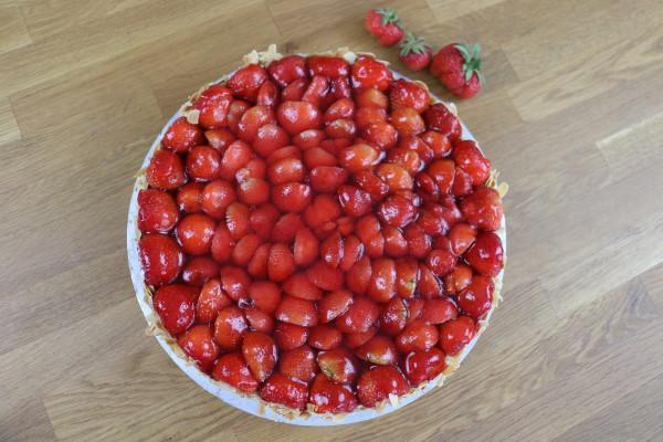 Erdbeertorte - Kuchen und Torten