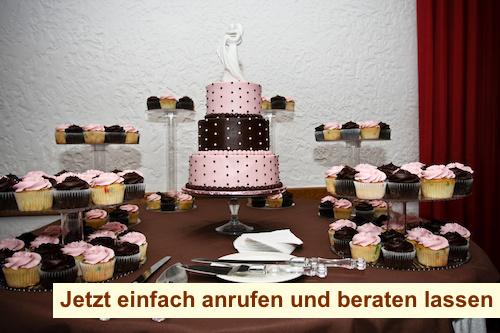 Cupcake Torte Hochzeit Berlin