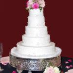 Hochzeitstorte im Sommer 370